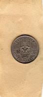 Monnaie  Grande-Bretagne .George VI : 1 Shilling 1951 , Copper-nickel, TTB - I. 1 Shilling