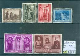 513-518   Xx Côte 88.00€ - Unused Stamps