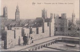 Gand - Panorama Pris Du Château Des Comtes - Gent