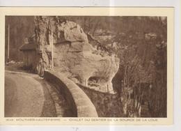 CPA-25-Doubs- MOUTHIER-HAUTEPIERRE- Chalet Du Sentier De La Source De La Loue- - Otros Municipios