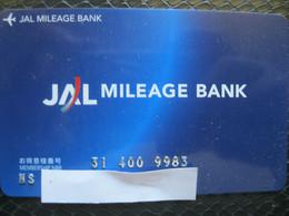 "Cartes De Credit ""avions Miles "" - Credit Cards (Exp. Date Min. 10 Years)"