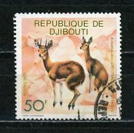 DJIBOUTI : FAUNE -  N° Yvert  474 Obli. - Djibouti (1977-...)