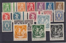 Bayern MiNr. 178-195 ** - Bavaria