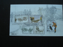 Postzegelblok++dieren Aan Het Werk-BUZIN++postfris++ - Bloques 1962-....