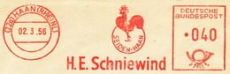 Freistempel Kleiner Ausschnitt 797 Hahn Seide - Affrancature Meccaniche Rosse (EMA)