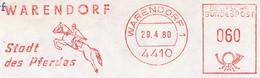 Freistempel Kleiner Ausschnitt 809 Pferd Reiter Warendorf - Affrancature Meccaniche Rosse (EMA)