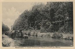 Bonsecours , Canal D' Antoing à Mons à Condé Par Blaton ,( Bernissart , Peruwelz ) Péniche - Bernissart