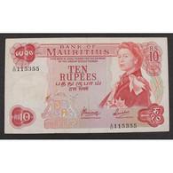 Ile Maurice, 10 Rupees ND (1967), VF - Mauritius