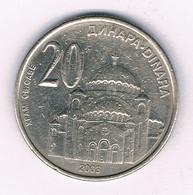 20 DINAR  2003 SERVIE /3314/ - Serbia
