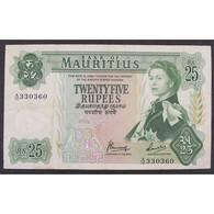Ile Maurice, 25 Rupees ND (1967), VF - Mauritius