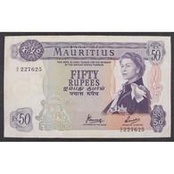 Ile Maurice, 50 Rupees ND (1967), VF - Mauritius