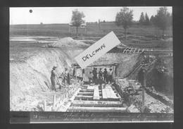 Ligne Frasne-Vallorbe  Détails De La Cuvette D'avancement De La Tranchée Nord - 28 Juin 1911 - Reproduction - Non Classificati