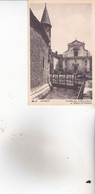 CPA 74 ANNECY ,Tourelle Des Vieilles Prisons Et L'église St-François. - Annecy
