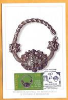 2004 2018 Moldova Moldavie Moldau  Maxicard  Silver Jewelry, Museum. Culture - Moldova