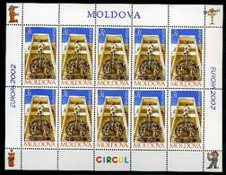 Moldawien Kleinbogen MiNr. 429 Postfrisch MNH Cept 2002 (B006 - Moldova