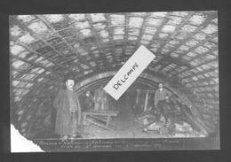Ligne Frasne-Vallorbe  Souterrain Du Mont D'Or - Côté France - Voute Du 4 ème Anneau - 4 Novembre 1911 - Reproduction - Non Classificati