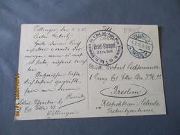 Villingen 5.3.1917 Brief Stempel Kommando Des 4 Bad Int Regis Prinz Wilhem Feldposte Carte  Franchise Postale Krieg 14.1 - Briefe U. Dokumente