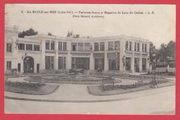 CPA-44 -LA BAULE - Parterres Et Magasins De Luxe Du Casino - Architecte F. Ménard**2 Scans - La Baule-Escoublac