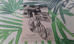 Cap Auguste Wambst  Dédicacés  21  02 1930 - Escalade