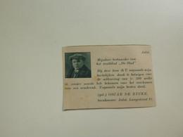 """Origineel Knipsel ( D 160 ) Uit Tijdschrift """" De Stad """" 1937 :   Ongevallenverzekering  Verzekering  Aalst - Zonder Classificatie"""