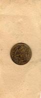 Monnaie De La Tunisie PROTECTORAT FRANÇAIS - Pièce Bon Pour 50 Centimes 1921 - Bronze-aluminium En TTB - - Tunisia
