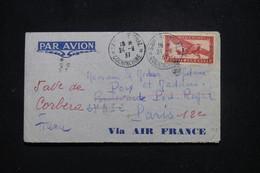 INDOCHINE - Enveloppe De Saigon Pour La France En 1937 Par Avion - L 95731 - Covers & Documents