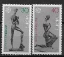 Allemagne 1974 Neufs ** N° 618/619 Europa Sculptures - 1974