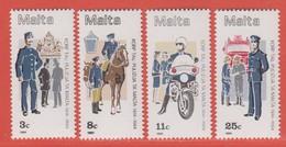 1984 Malta ** (sans Charn., MNH, Postfrisch)   Yv 687/90Mi  706/9 SG 738/41 - Malta