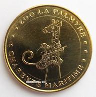 Monnaie De Paris 17. Zoo La Palmyre - Girafe Et Mascotte 2007 - 2007