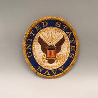 #OB24 - Ecusson United States Navy - Aigle Royal Tissu - Patches
