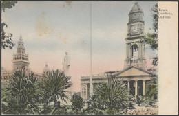 Town Gardens, Durban, Natal, C.1905-10 - Postcard - Afrique Du Sud