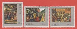 1984 Malta ** (sans Charn., MNH, Postfrisch)   Yv 694/6Mi  713/5 SG 745/7 - Malta