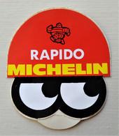 - Autocollant Automobile. MICHELIN RAPIDO - Garage. Pneu - - Adesivi