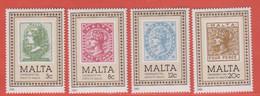1985 Malta ** (sans Charn., MNH, Postfrisch)   Yv 700/3Mi  719/22 SG 751/4 - Malta