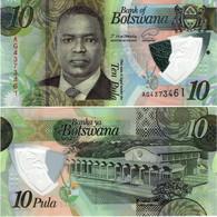 BOTSWANA       10 Pula       P-New       2020       UNC - Botswana
