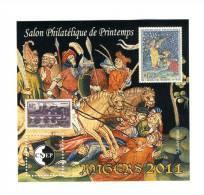 Bloc CNEP N° 58 : Salon De Printemps Angers 2011 . Voir Le Scan . Cote YT : 13 € , Cote Maury N° 58 : 14 € . - CNEP
