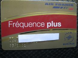"""Carte De Credit """"avion Miles """" - Cartes De Crédit (expiration Min. 10 Ans)"""