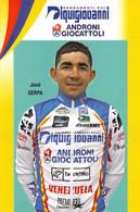 CYCLISME: CYCLISTE : JOSE SERPA - Cycling