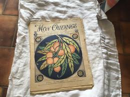 Revue Mon Ouvrage 1926 Mode Couture Les Fruits Exotiques - 1900 - 1949