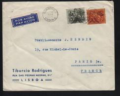 Portugal  LISBONNE  - 2   ? Novembre 1965 Pour Paris - Covers & Documents