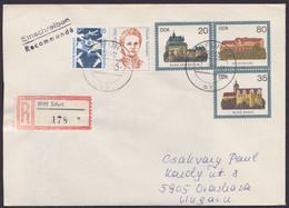 U 1, Mit Pass. Zusatzfrankatur Als R-Brief Nach Ungarn - Umschläge - Gebraucht