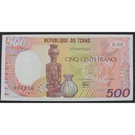 Tchad, 500 Francs 1.1.1990, XF - Chad