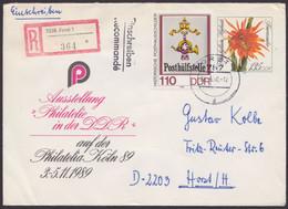 """U 10, Mit Pass. Zusatzfrankatur Als R-Brief """"Forst"""" - Umschläge - Gebraucht"""