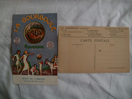 La Bourboule /63 / Lot De 3 Cartes Publicitaires/reine De L'arsenic - Advertising