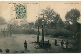 ORLEANS - Exécution De Languille - Justice, Guillotine - Orleans