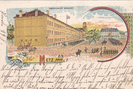 LE FORT-MOSELLE - METZ - MOSELLE - (57) - LITHOGRAPHIE DE 1904. - Metz