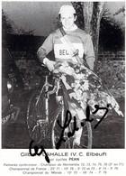 CYCLISME: CYCLISTE : GILBERT LAHALLE - Cycling