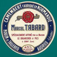 ETIQU.CAMEMB. MOULIN De TAILLEBOSQ Marcel TABARD Audrieu 14 - Cheese