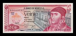 México 20 Pesos 1977 Pick 64d Serie DN SC UNC - México