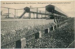 PITHIVIERS, La Sucrerie - Les Caniveaux, Déchargement Des Wagons - Pithiviers